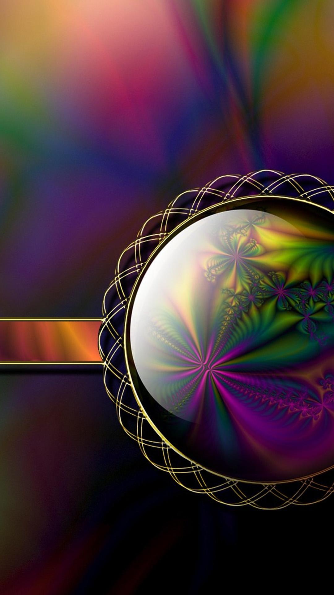 3D fractals Galaxy S5 Wallpaper