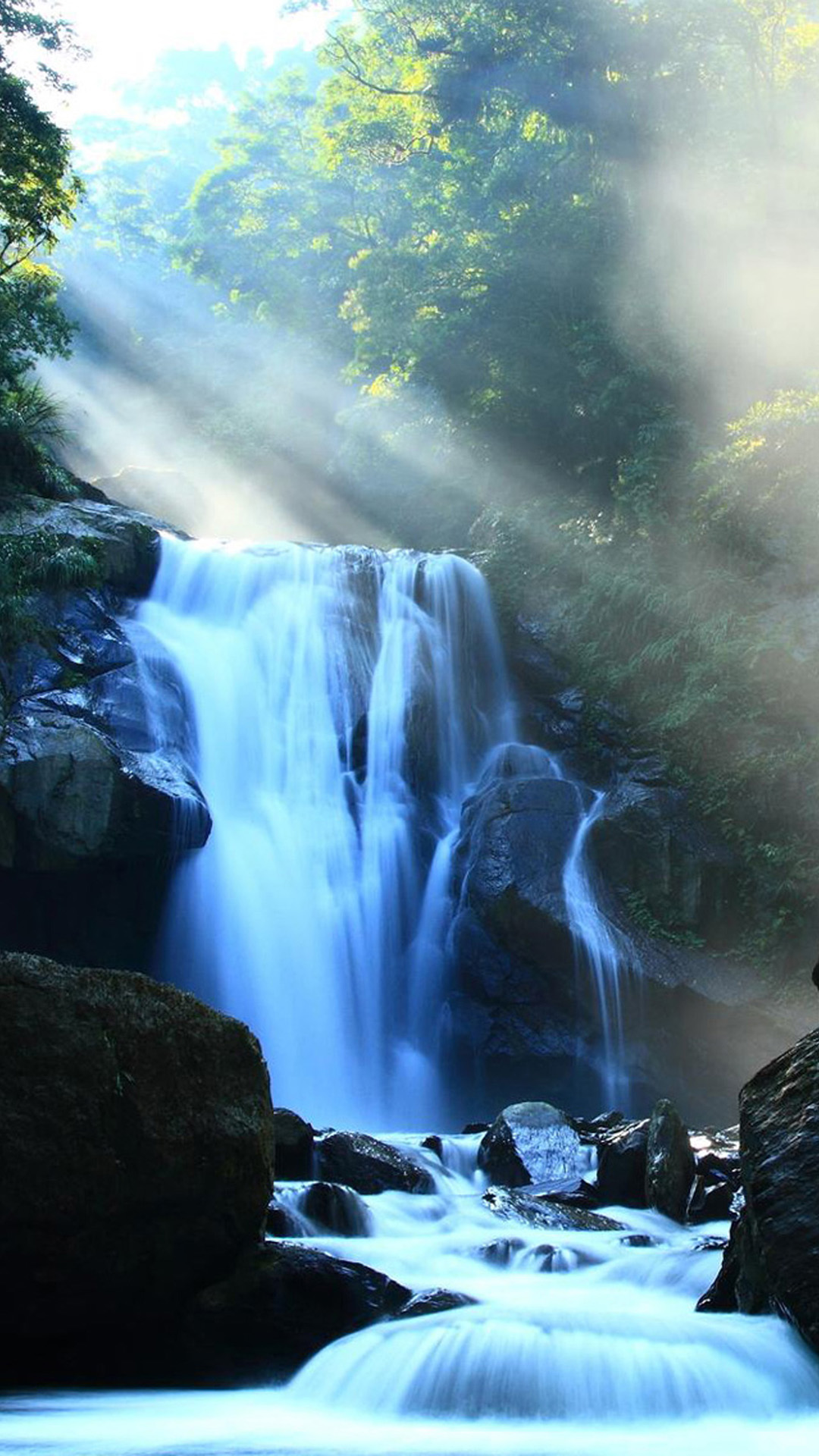 Waterfall Galaxy S5 Wallpapers 02