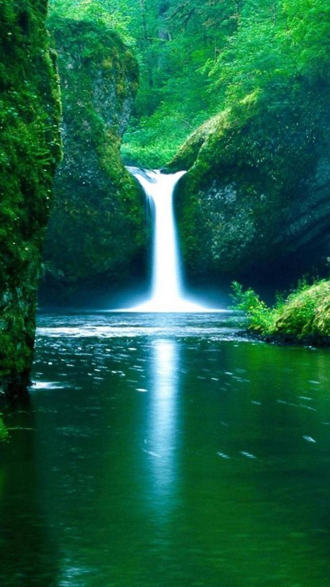 Waterfall Galaxy S5 Wallpapers 12