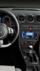 2014 Audi A4 Interior HD Wallpaper iPhone 6 plus