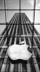 Apple Store New York City HD Wallpaper iPhone 6 plus