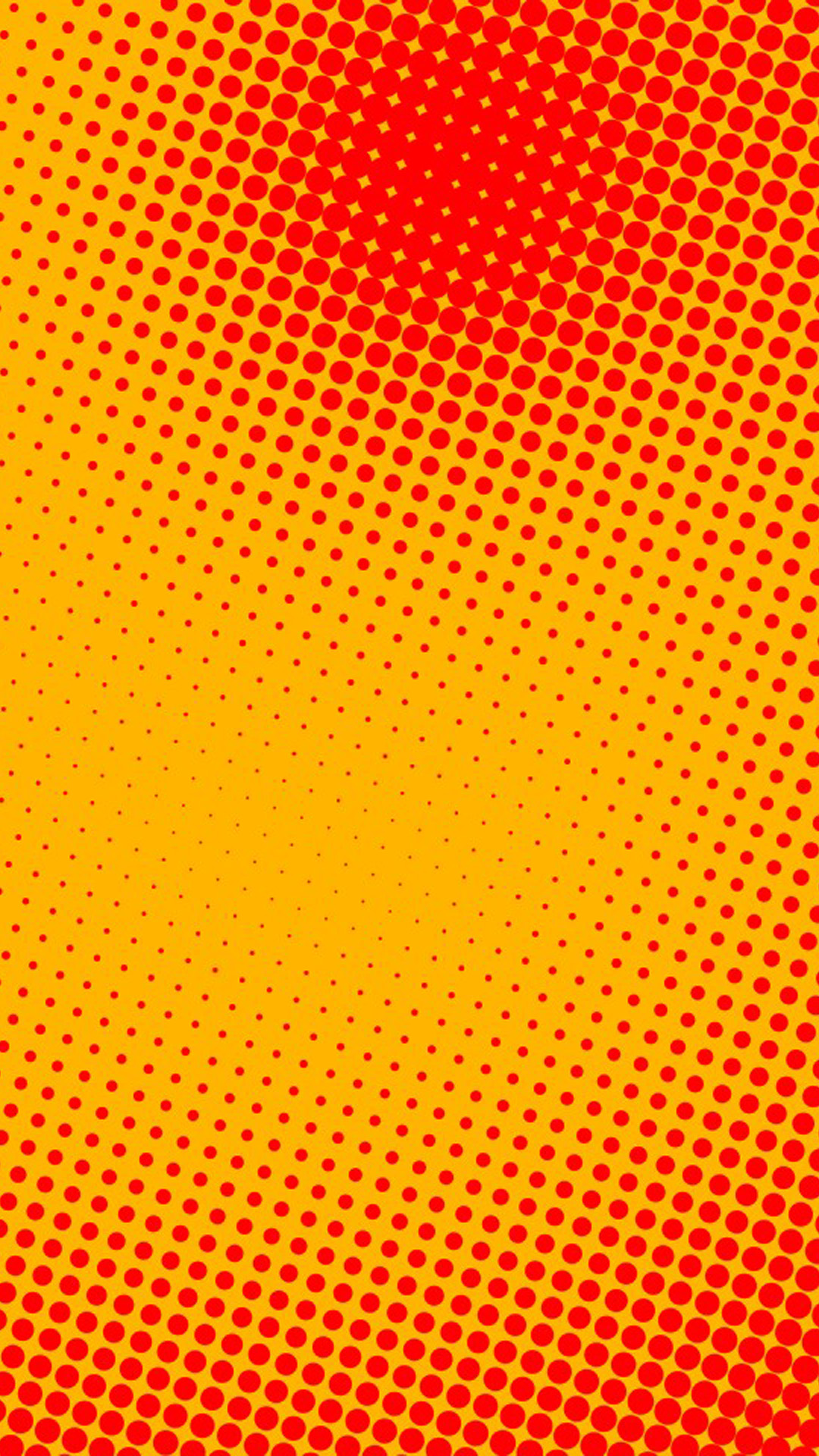Background dots orange hd wallpaper iphone 6 plus for Orange wallpaper
