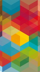 Colored cubes iPhone 6 plus Wallpaper