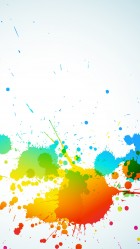 Colorful Abstract splash iPhone 6 plus Wallpaper