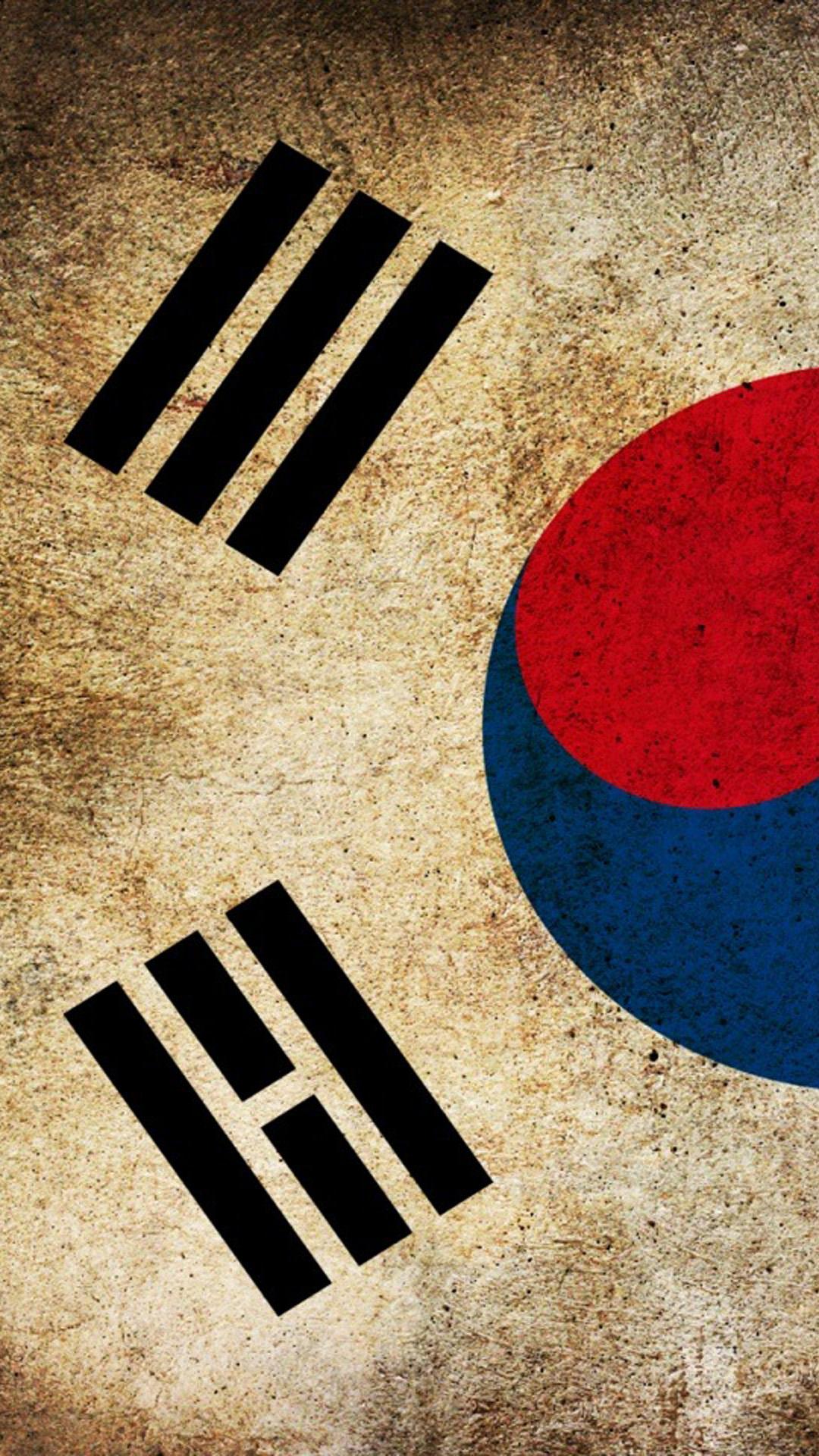 Wallpaper iphone korea - Flag South Korea Hd Wallpaper Iphone 6 Plus