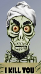 Funny Achmed HD Wallpaper iPhone 6 plus