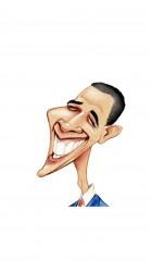 Funny Barack Obama HD Wallpaper iPhone 6 plus