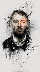 Funny Thom Yorke 3 HD Wallpaper iPhone 6 plus