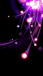 Purple lights iPhone 6 plus Wallpaper