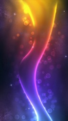 Purplellow glow iPhone 6 plus Wallpaper