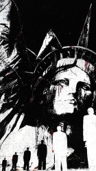 Statue of Liberty Illustration HD Wallpaper iPhone 6 plus