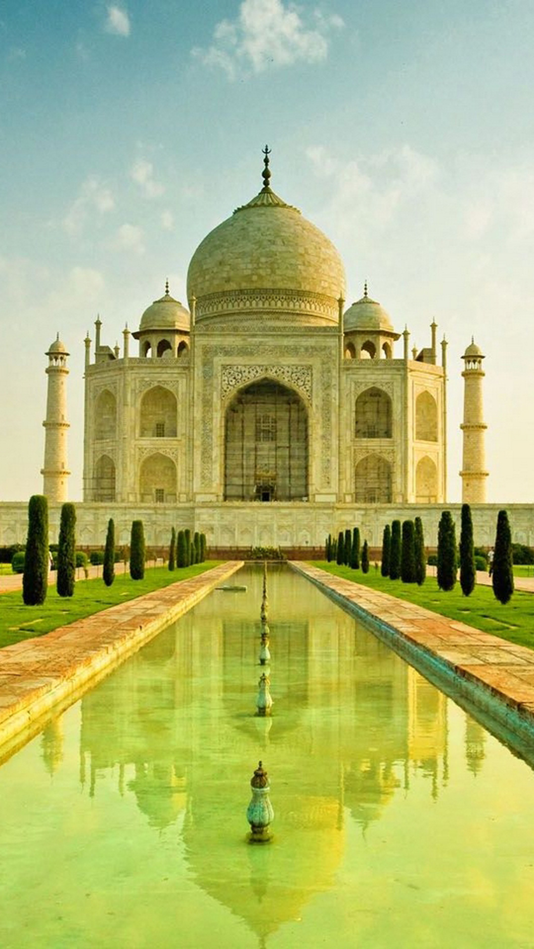 Taj mahal agra india hd wallpaper iphone 6 plus for Wallpapers for house wall in india