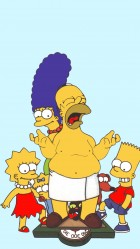 The Simpsons HD Wallpaper iPhone 6 plus