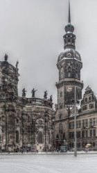 Theaterplatz dresden HD Wallpaper iPhone 6 plus