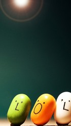 Three cute smile HD Wallpaper iPhone 6 plus