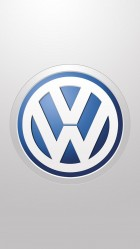 Volkswagen LOGO HD Wallpaper iPhone 6 plus