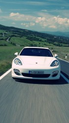 White Porsche HD Wallpaper iPhone 6 plus