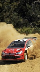 Wrc citroen racing HD Wallpaper iPhone 6 plus