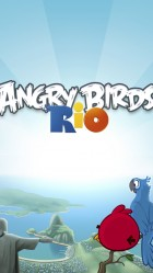 iPhone 6 plus Angry Birds Rio Online Games wallpaper