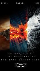 iPhone 6 plus Batman Trilogy Games wallpaper