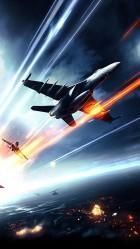 iPhone 6 plus Battlefield 3 jet fighter HD Wallpaper