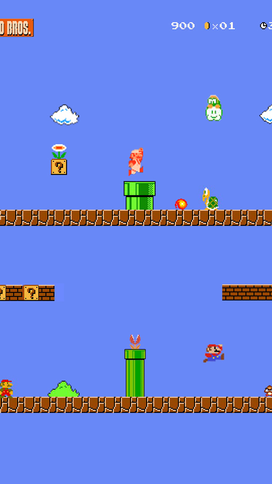 iphone 6 plus super mario bros hd wallpaper