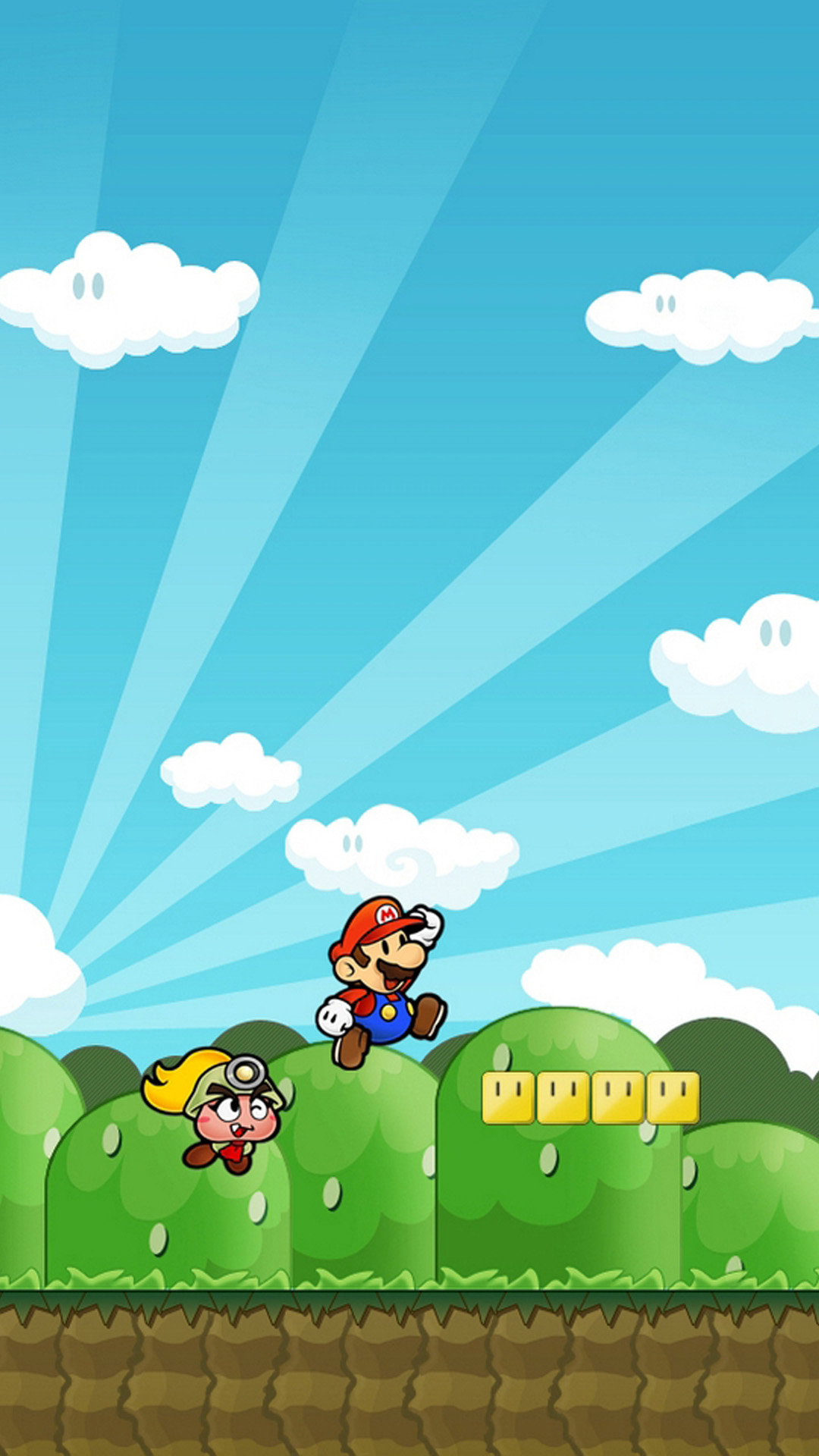 iphone 6 plus supermario 03 hd wallpaper