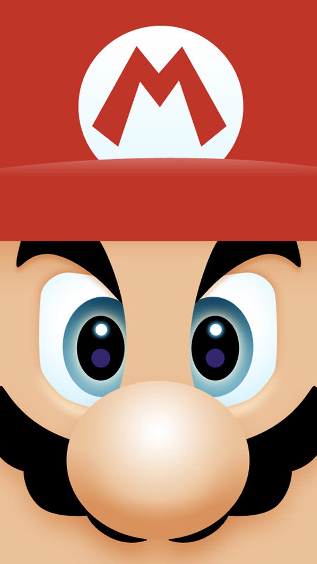 iphone 6 plus mario face games wallpaper